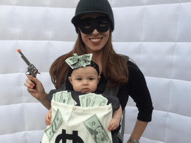 21 Creative Halloween Costumes for Babywearing Moms and Dads