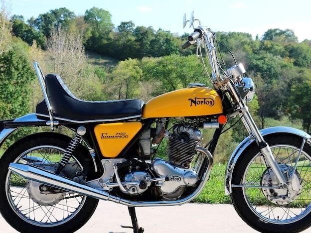 1971 Norton 750