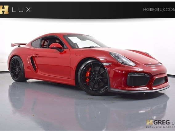 2016 Porsche Cayman--GT4