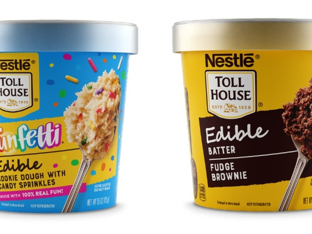 Nestlé Toll House's New Edible Cookie Dough Flavors Are 2 Sweet Bites