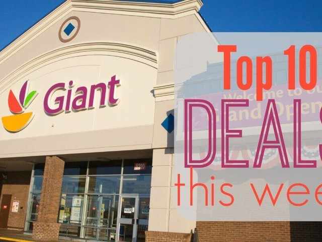 10 of the Most Popular Deals at Giant – Ending 12/14