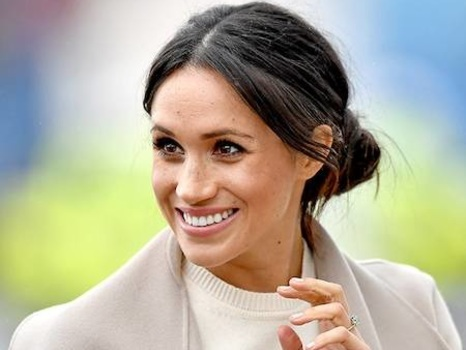 Meghan Markle's Sweater Is a Page Out of Kate Middleton's Style Book