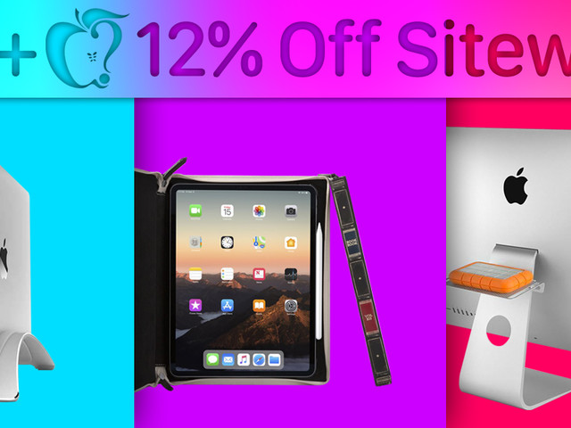MacRumors Exclusive: Get 12% Off Your Total Purchase from Twelve South This Week Only