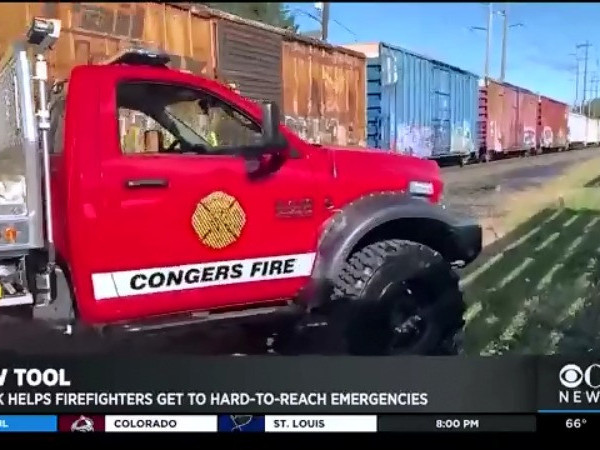 Rockland County Gets New Fire Truck To Help Fight Hard-To-Reach Fires
