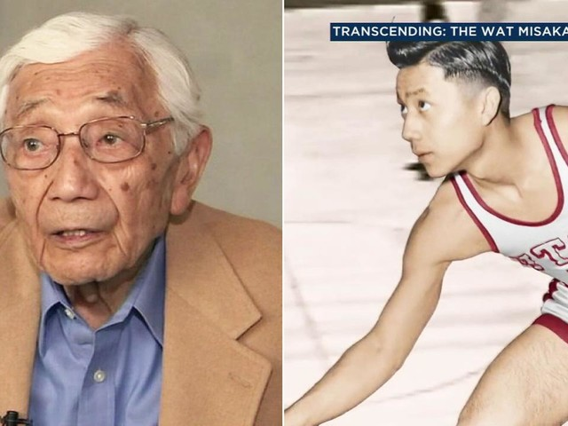 Wat Misaka, 1st non-white player in NBA, honored in Little Tokyo