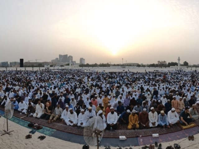 Video: Muslims across UAE gather to celebrate Eid Al Adha