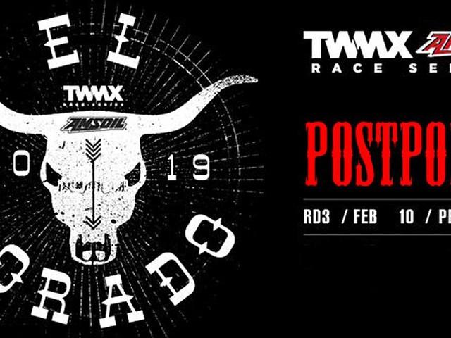 TWMX Race Series El Dorado Perris Round Postponed