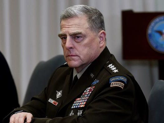 Israel Using Gen. Milley To Pass Messages To Biden On Iran