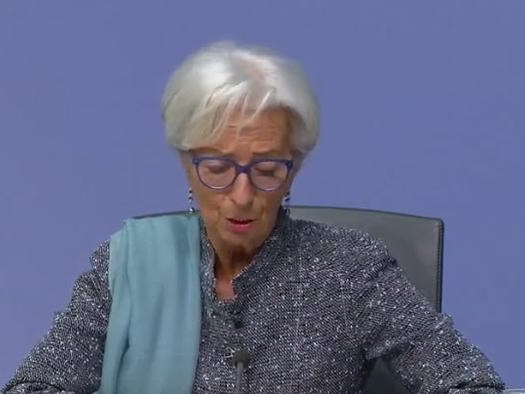 Watch Live: Lagarde Explains How Europe Will Recover Despite Surging Euro