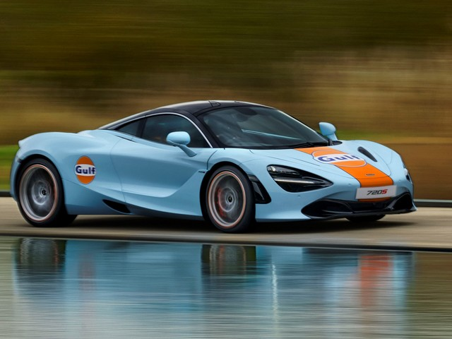 This Just In: McLaren Paints A Legendary Future With Gulf Oil Partner