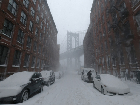 Winter Storm Warning Issued For NYC & Suburbs