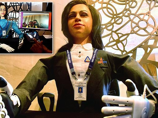 Meet Vyommitra! India's legless 'female' robot that will be sent to space