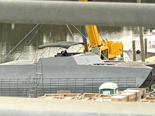 Mysterious Stealth Boat In Mississippi Boatyard Linked To Special Forces Program