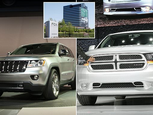 Fiat Chrysler recalls 700,000 Jeep Grand Cherokees and Dodge Durango SUVs over engine stall problem