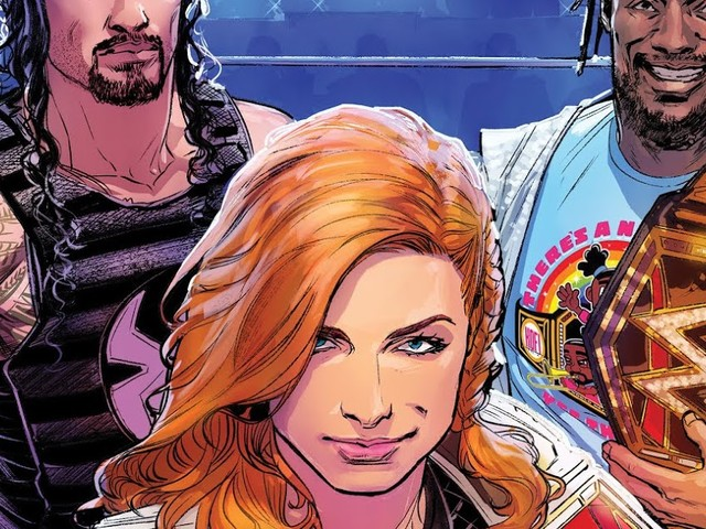 Becky Lynch Stars in WWE SMACKDOWN LIVE #1 From BOOM! Studios