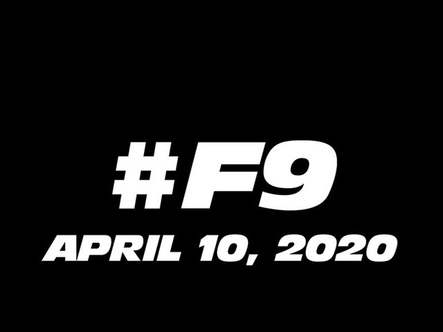 Fast and Furious 9 Starts Filming on April 20, 2019