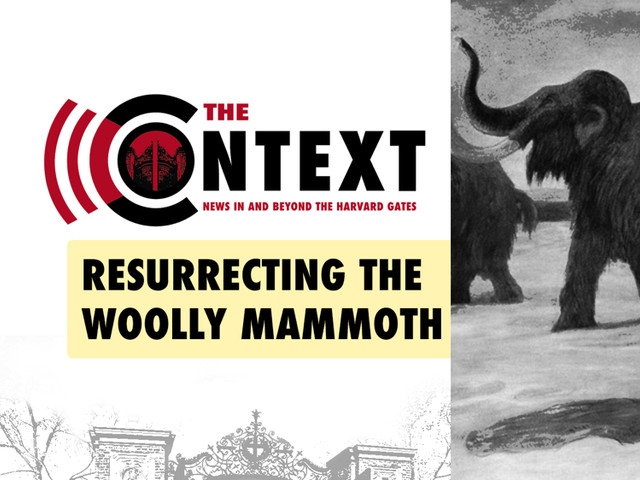 The Context: Resurrecting the Woolly Mammoth