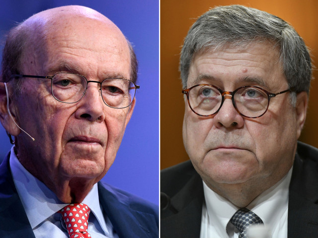 House committee votes to hold William Barr and Wilbur Ross in contempt