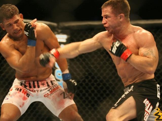 Ex-UFC LWs champ Sean Sherk reacts to UFC 229 brawl