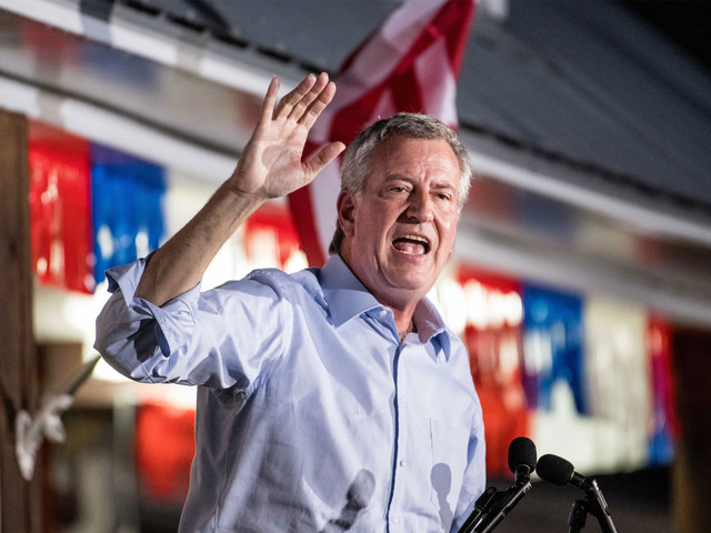 Donations dried up long before de Blasio dropped out of presidential race