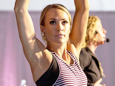 Carrie Underwood's Trainer Shares The 4-Minute Workout You Can Do Anytime While Stuck At Home