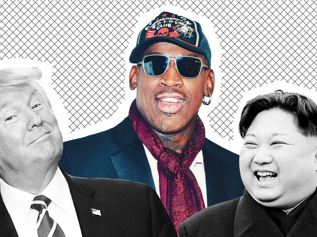 Dennis Rodman Is Trying to Unite the U.S. and North Korea With Ugly Christmas Sweaters