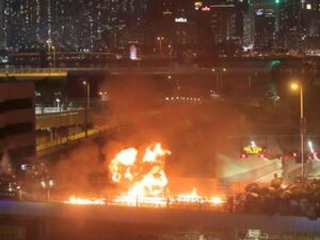 Hong Kong police launch operation to flush out protesters