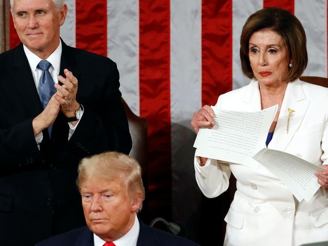 Tension between Trump and Pelosi dominated the SOTU, beginning with a snubbed handshake and ending with a ripped up speech