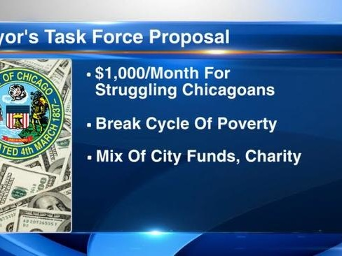 "Chicago Mayor Proposes Paying 1,000 Residents $1,000 A Month ""With No Strings Attached"""