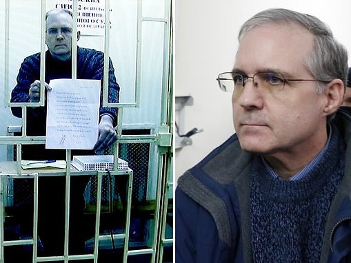 Former US marine Paul Whelan appears on court video link in Russia