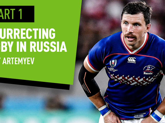 'I want to make rugby can be a top 3 sport in Russia': National team captain Vasily Artemyev (VIDEO)