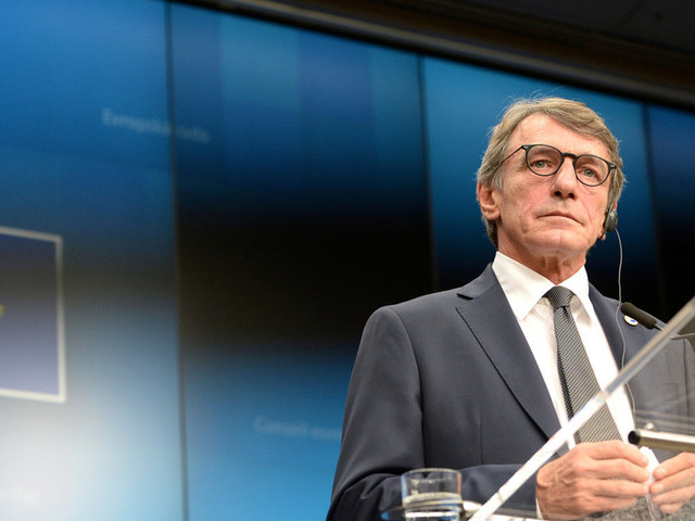 European Parliament president says Turkey's EU membership talks should be suspended