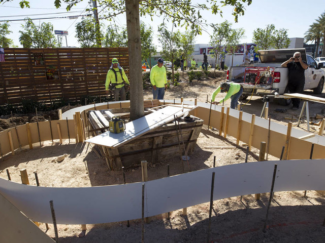 Quickly built garden is first step in helping Las Vegas heal