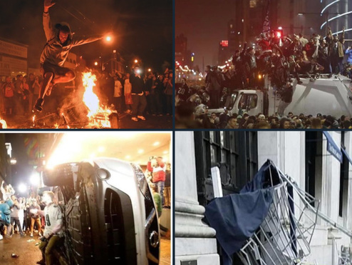 America Wakes Up After A Night Of Chaos And Destruction: 1,700 Rioters Arrested In Three Days