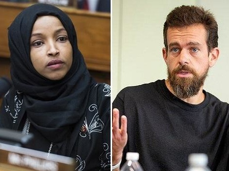 Jack Dorsey Shuts Down Rep. Omar; Won't Remove Trump 9/11 Tweet