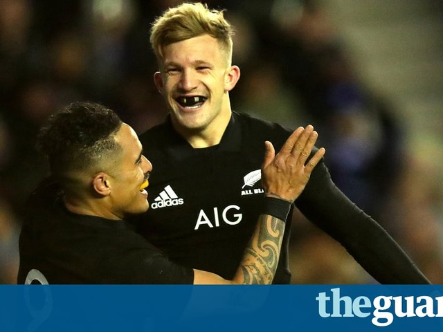 Damian McKenzie the latest in a long line of All Black all-rounders