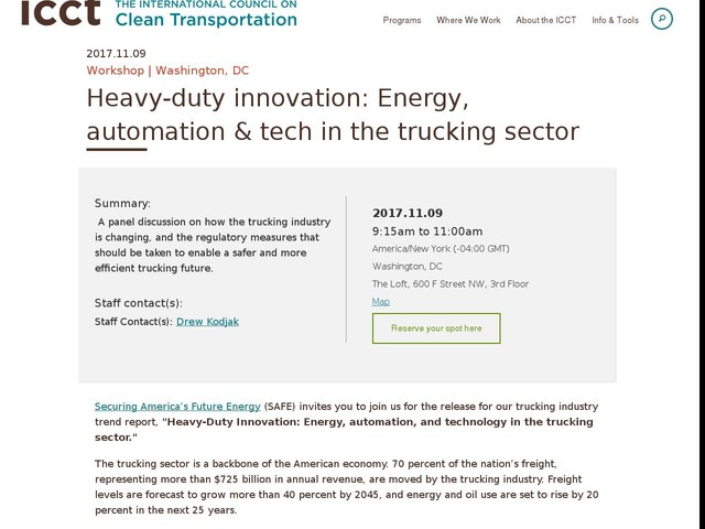 Heavy-duty innovation: Energy, automation & tech in the trucking sector