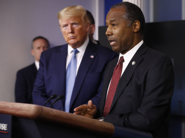 Housing Sec. Carson Says He Doesn't Understand Why People Think Trump's Response To Protests Is 'Hat