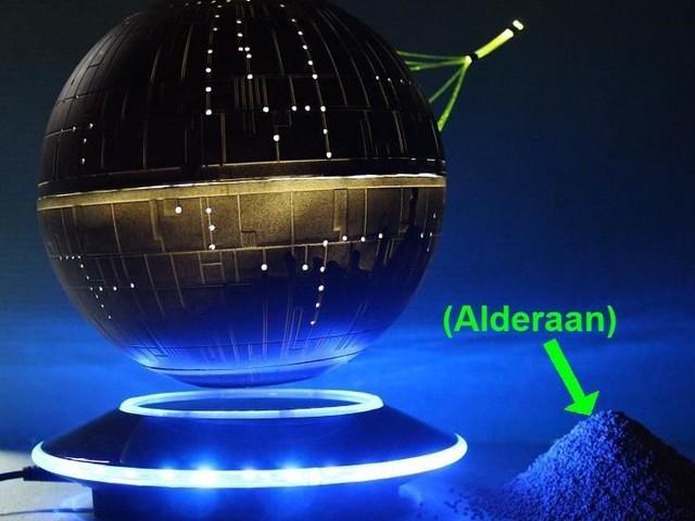 Floating Death Star Build 2017