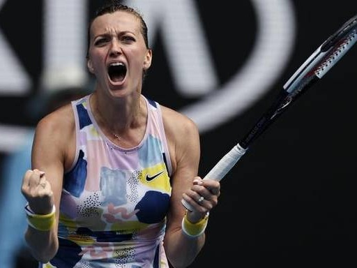 Australian Open: Kvitova beats Sakkari to reach quarter-finals