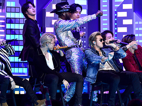 BTS Take Lil Nas To The 'Seoul Town Road' During Epic 'Old Town Road All-Stars' Performance