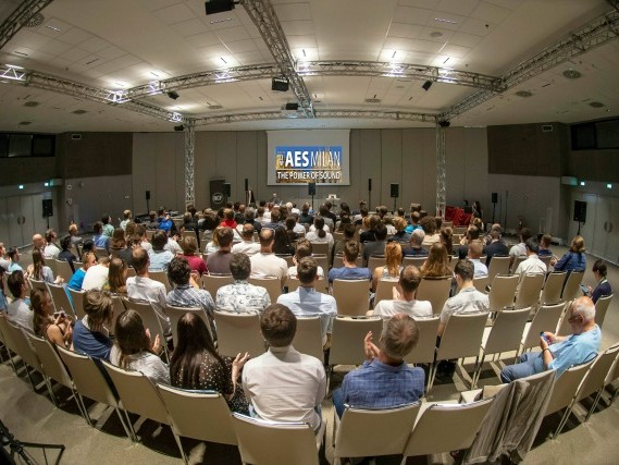 AES Convention In Dublin This March