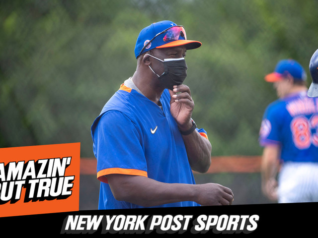 Listen to Episode 49 of 'Amazin' But True': Was Mets' Firing of Chili Davis the Right Move? feat. Howard Johnson