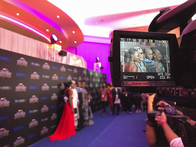 'We've arrived:' South Africans cheer 'Black Panther' launch