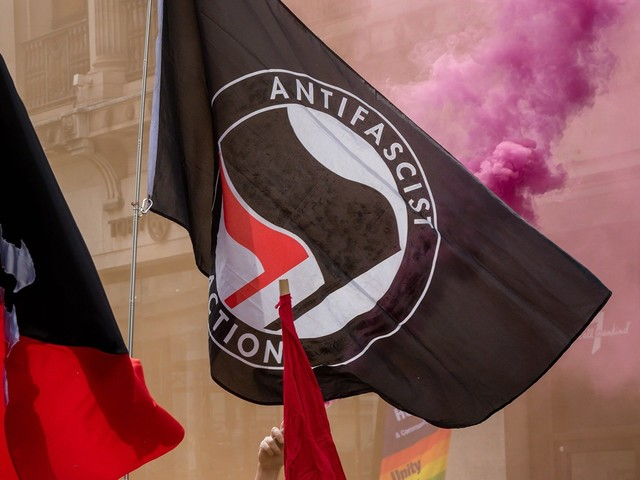 Is the richest town in Michigan swarming with antifa?