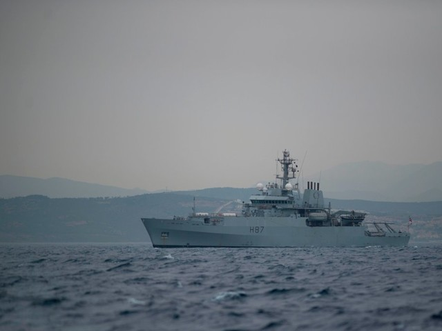 US officials: Iranian boats harass British tanker in the Gulf