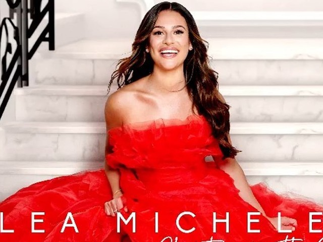 Lea Michele's First Christmas Album Is Basically a Mini Glee Reunion, and We Can't Wait