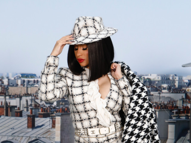 Cardi B Covers 'Vogue' with Her Daughter Kulture