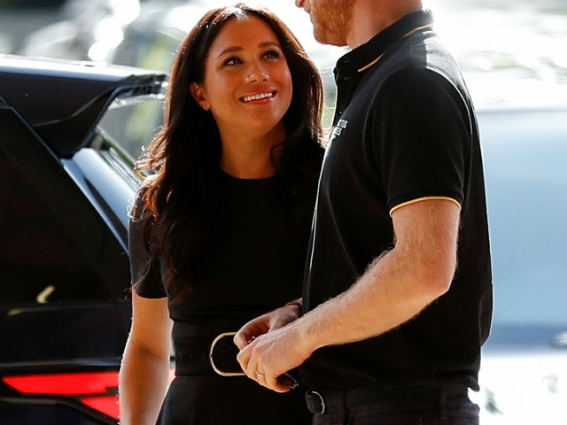 The Duke & Duchess of Sussex allegedly flew commercial to Rome yesterday