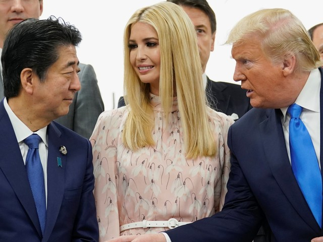 'Painful to watch': The French government released a video of Ivanka Trump having an awkward chat with world leaders